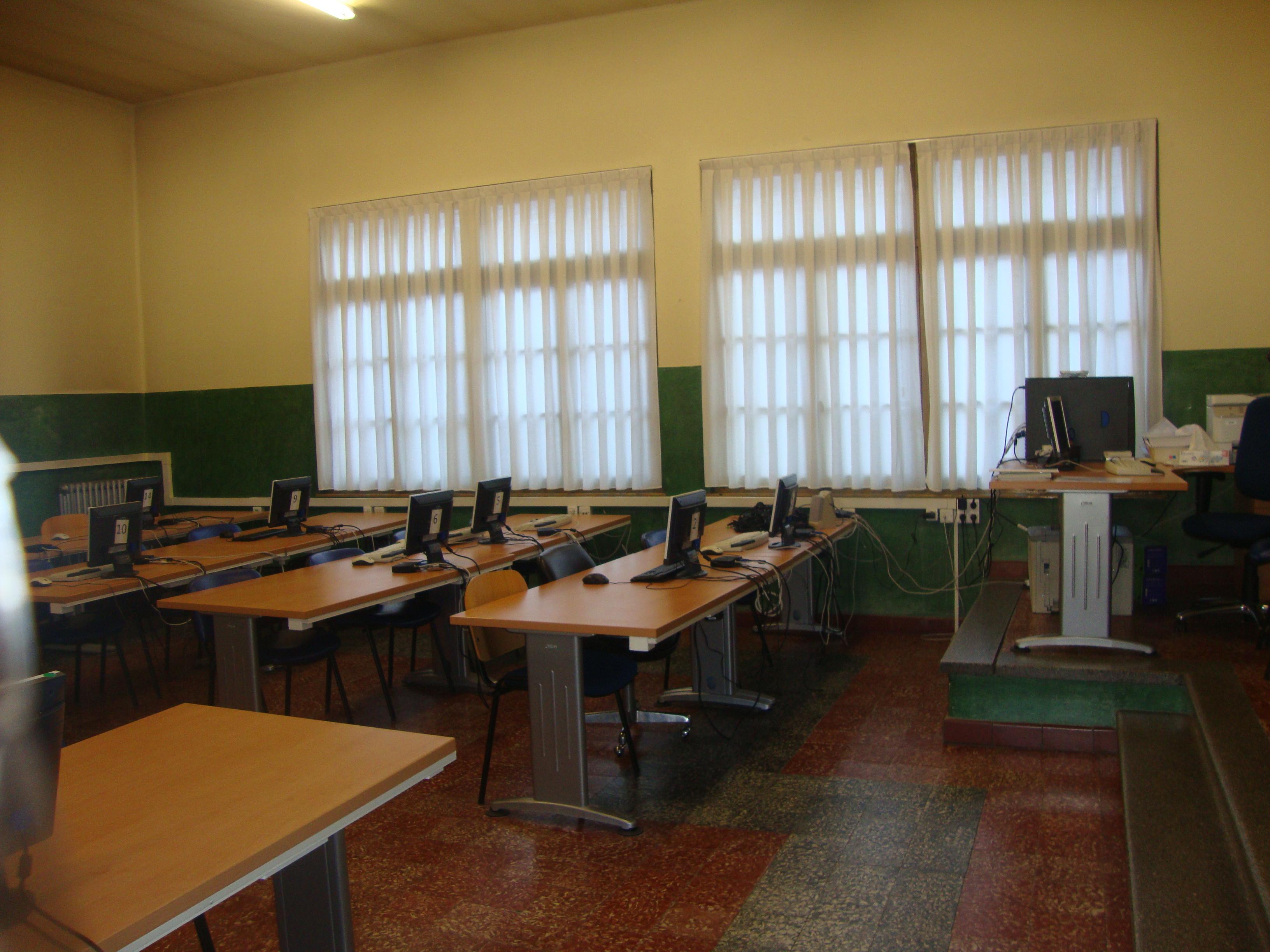 Aula de informática -