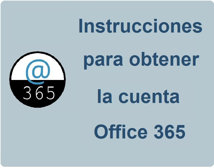 Cuenta Office 365