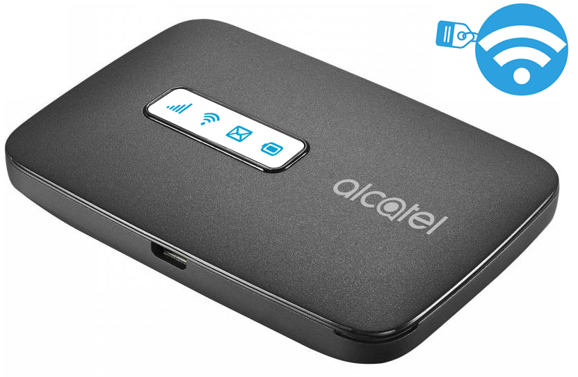 Router emisor de WIFI. Alcatel LinkZone