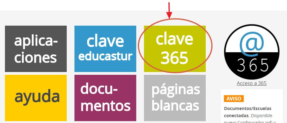 Intranet educastur. Gestión de la contraseña de la cuenta Office 365